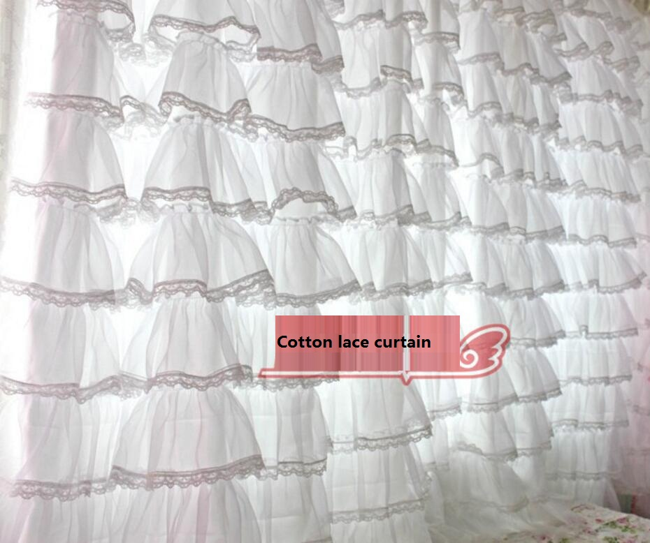 Por Cotton Lace Curtain Lots