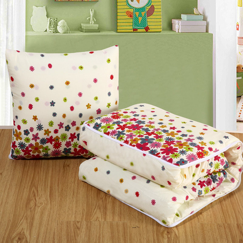 multifunction 2 in 1 cushion blanket 16inch sofa car seat back lumbar throw pillow 40x40cm lounge deck chair pads mall xmas gift