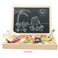Многофункциональные детские Сельскохозяйственных Животных Деревянные Игрушки для детей обучающие головоломки игрушка Ребенок Чертежной Доске деревянные головоломки игрушки CU23