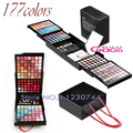Pro 177 Color Makeup Set Eyeshadow Palette Blush Lip Gloss Brow Shader Naked Concealer Eyeshadow Gel Maquiagem