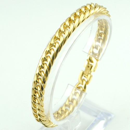 Boy's Men's Stainless Steel Link Chain Bracelet 16 Fashion Jewellery, Wholesale Free shipping, HB027 15