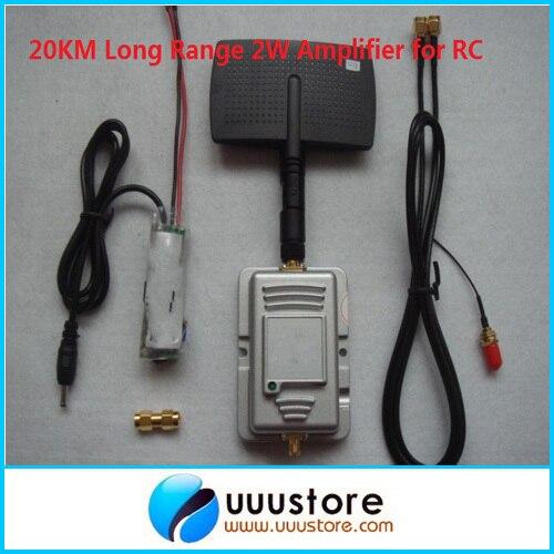 Longue port e rc 2 4 ghz 2 w amplificateur distance t l commande wifi signal large bande - Amplificateur de signal wifi longue portee ...