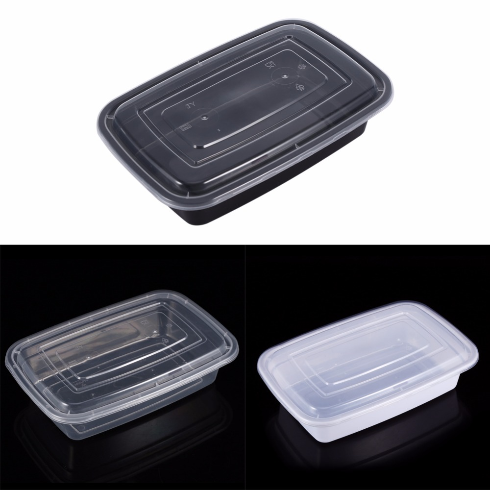 Microwave Food Container ~ Disposable microwave plastic food storage container safe