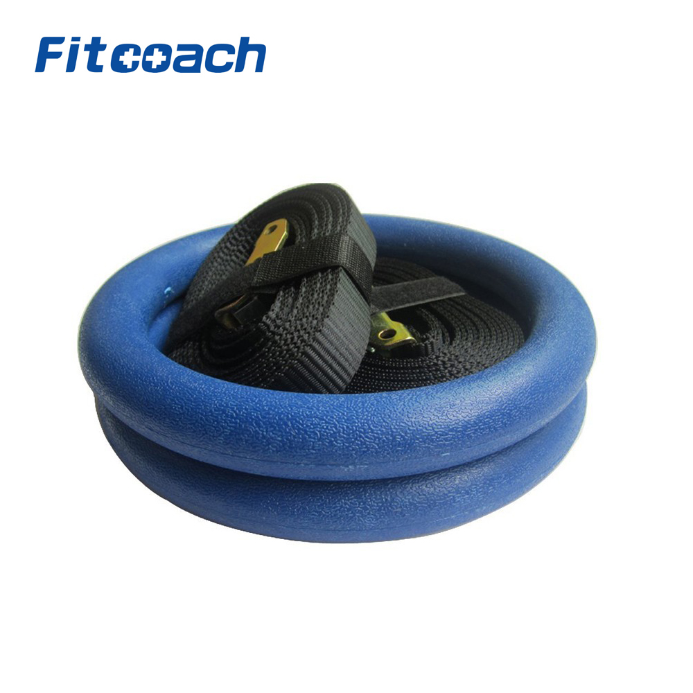 ABS Gymnastic Rings Exercise Rings Fitness Crossfit Home Gym Muscle Training Fitness Equipment track field exercise gymnastic rings gym exercise crossfit pull ups muscle ups fitness tendon crossfit resistance band