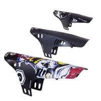 Richbit 2 piezas guardabarros de bicicleta de carretera de montaña guardabarros delantero trasero guardabarros de carretera de ciclismo de montaña delantera + guardabarros trasero MTB 2 piezas