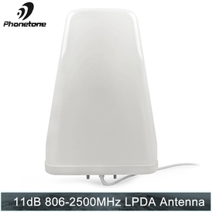 Image 1 - יומן תקופתית 11dBi 806 2500 MHz חיצוני עבור טלפון סלולרי אותות בוסטרים משחזר תקשורת מגבר עם N נקבה סוף