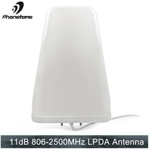 Image 1 - تسجيل الدوري هوائي 11dBi 806 2500MHz في الهواء الطلق ل هاتف محمول الداعم إشارة مكرر الاتصالات مكبر للصوت مع N أنثى نهاية