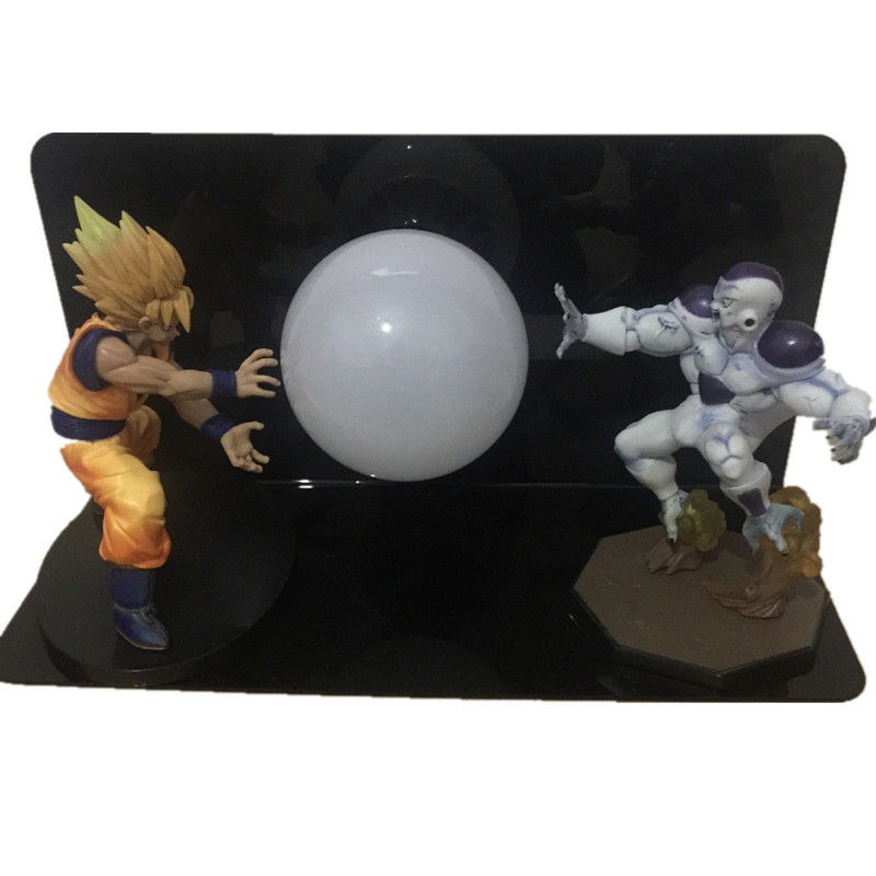 SSJ SON GOKOU VS frieza full power Match Makers Figure Toys Dragon Ball Z goku Freeza Vegeta Figurine  Model Strength Bombs lampSSJ SON GOKOU VS frieza full power Match Makers Figure Toys Dragon Ball Z goku Freeza Vegeta Figurine  Model Strength Bombs lamp