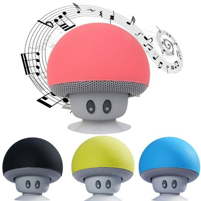 Puscard New Mini Portable Cute Wireless Handsfree Speaker Hoparlor With Super Bass Stereo Bluetooth For PC Tablet Phone Suction