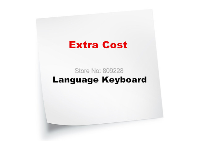 Extra cost For Language Keyboard