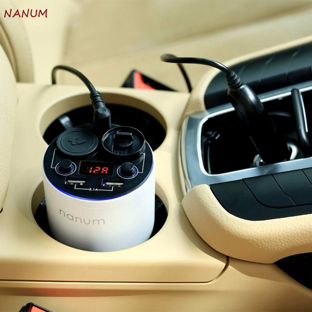 Essential Oil Diffuser With Dual USB Ports Adapter Innovative Fog Less Diffuser Aromatherapy Car Air Diffuser