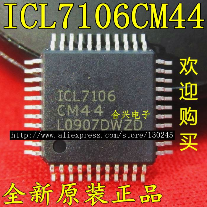 icl7106cm44 גיליון נתונים - 1pcs/lot ICL7106 ICL7106CM44 QFP44 In Stock