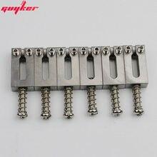 7 PCS Titanium alloy Bridge Saddles Type Square 10 5MM For