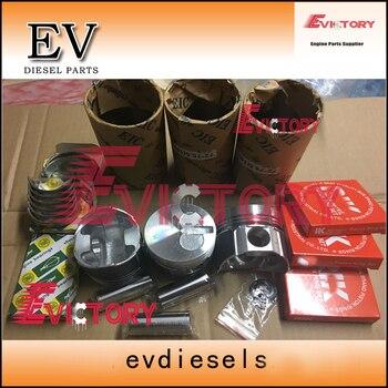 Für Yanmar 3TNE72 3TNV72 3TNA72 3TN72 Kolben + Ring + Liner + Dichtung + Lager + Ventil