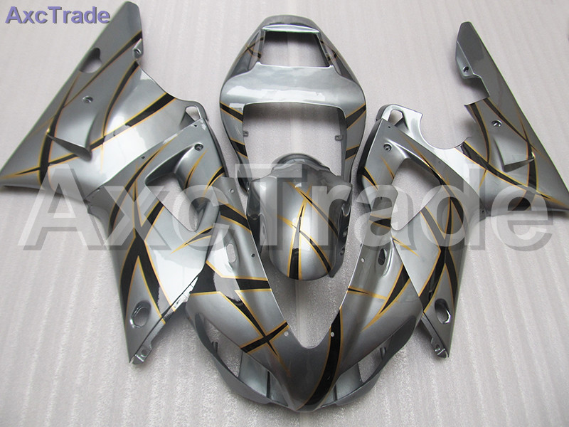 Gray Moto Fairing Kit For Yamaha YZF1000 YZF 1000 R1 YZF-R1 1998 1999 98 99 Fairings Custom Made Motorcycle Bodywork Injection abs plastic motorcycle injection racing fairings kits for yamaha yzf r1 1998 1999 yzfr1 98 99 black west abs fairing body parts