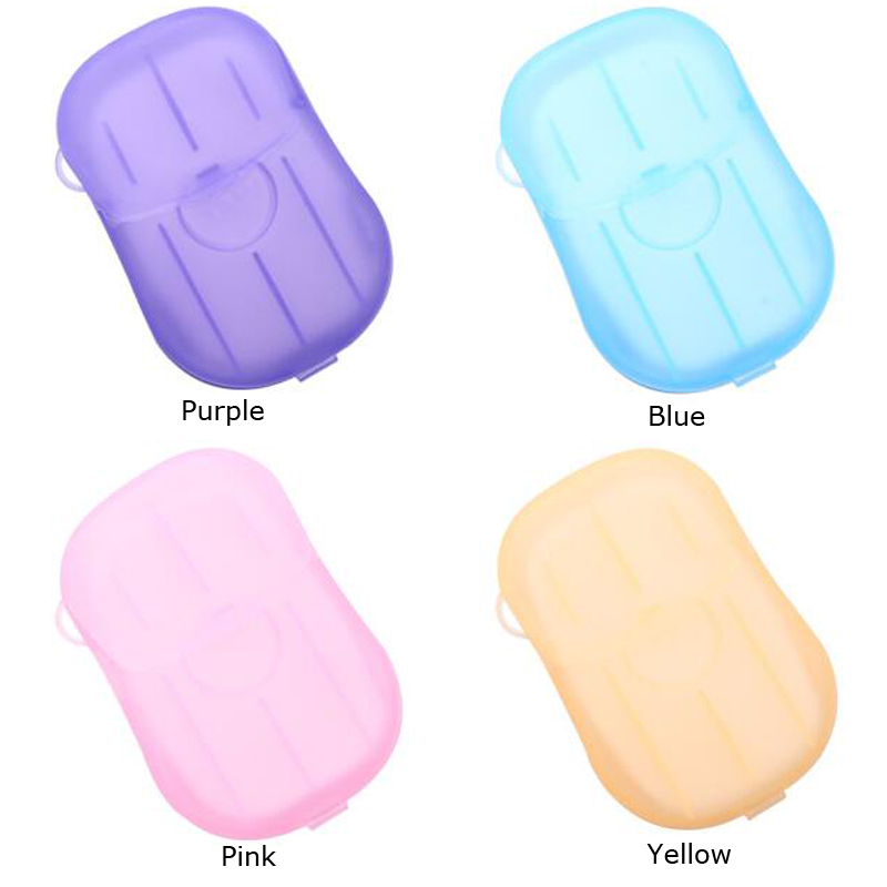 Image 5 - 4 Box Portable Disposable Soap Paper Whitening Exfoliating Mini Outdoor Travel  Camping Hiking Tools Wash Clean Hands Heath Care-in Outdoor Tools from Sports & Entertainment