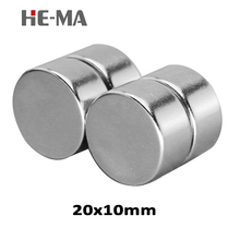 5Pcs Disc 20mmx10mm 20x10mm Neodymium Magnet Permanent N35 NdFeB Super neodymium magnets magnet Small Rare earth Magnets Fishing 60 5000pcs ndfeb micro magnet disc diameter 6x6 mm magnet neodymium magnets sensor rare earth tinny magnets grade n42 nicuni
