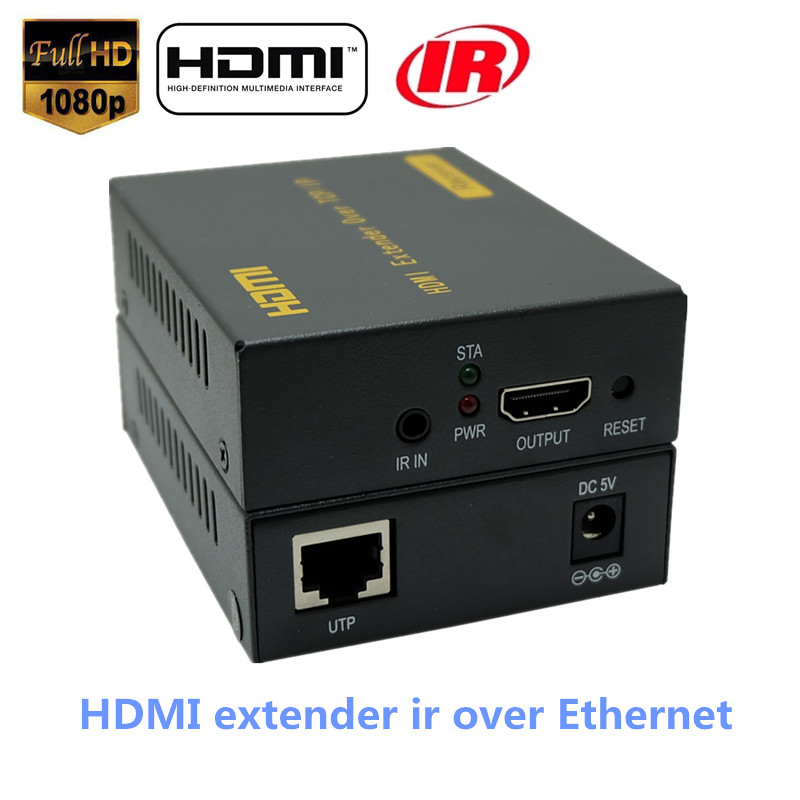 LKV373 400ft HDMI Over IP Splitter Extender With IR Over RJ45 Cat5 Cat5e Cat6 Cable HD 1080P HDMI Ethernet Extensor Up To 120m best price new usb utp extender adapter over single rj45 ethernet cat5e 6 cable up to 150ft