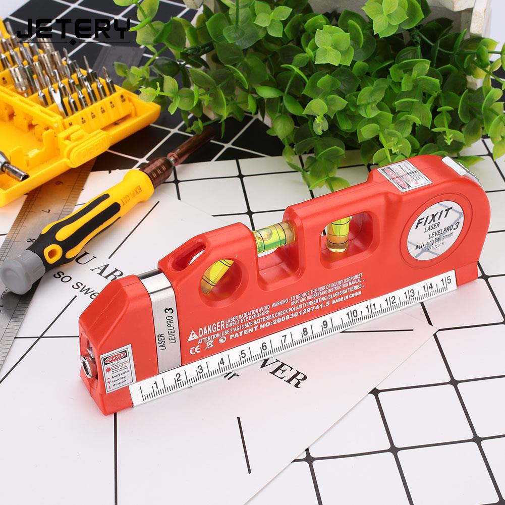 Lower Level Multi Purpose: Multi Purpose Laser Spirit Level With Measure Tape