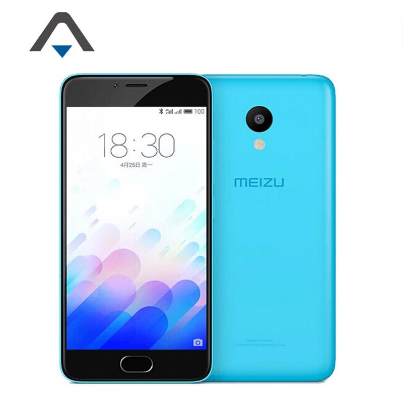 Original Meizu M3 Mini LTE 4G Mobile Phone MTK MT6750 Octa Core 5.0 inch 1280x720P Android 5.1 2GB RAM 16GB ROM 13.0MP GPS