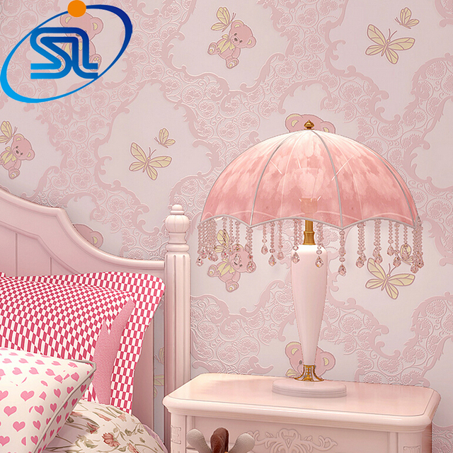 Free shipping romantic lovely baby kids children room teddy bear 3d free shipping romantic lovely baby kids children room teddy bear 3d wallpaper papel de parede embossed thecheapjerseys Image collections