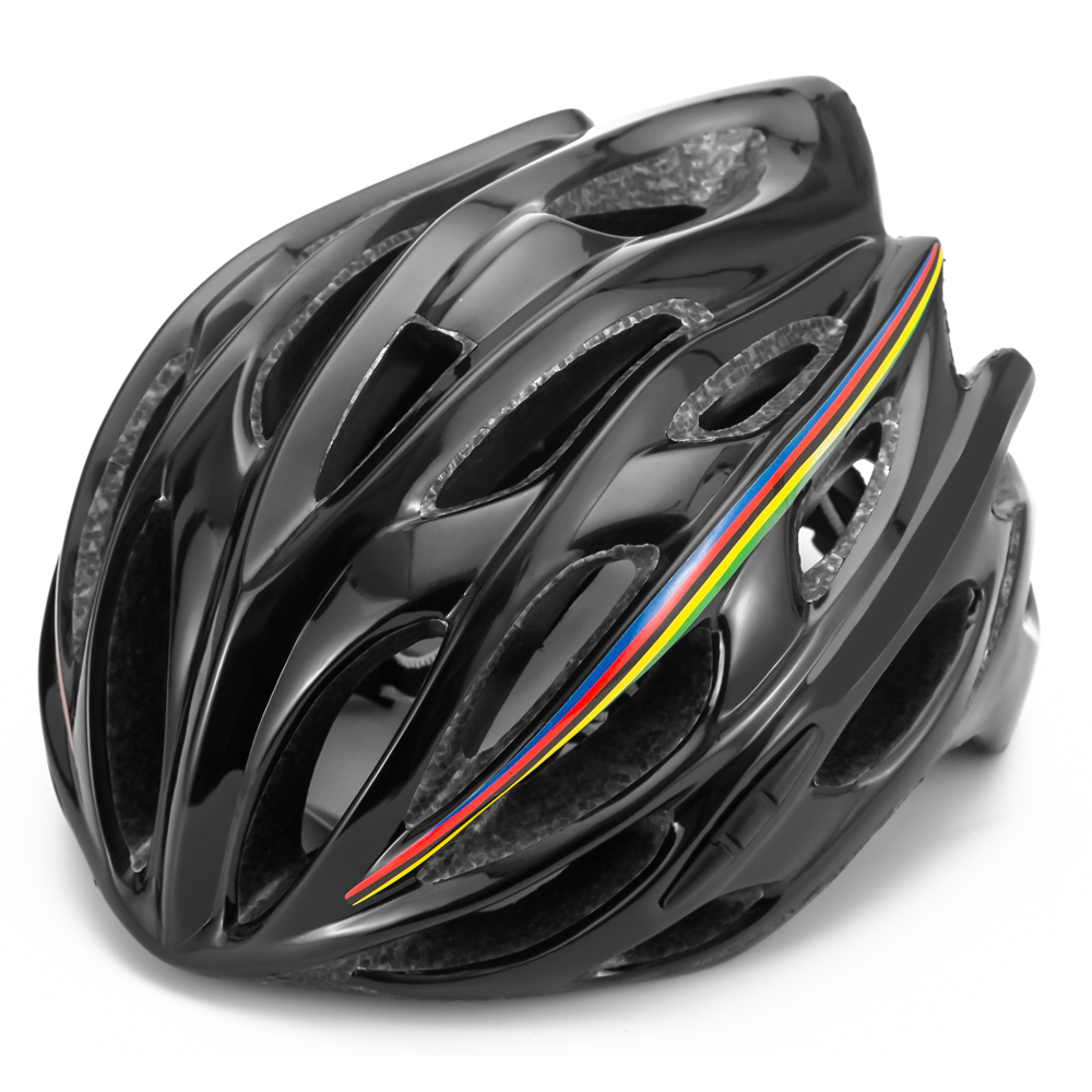 Road bike red cycling helmet aero racing team medium ultralight triathlon casco ciclismo bicycle helmet men
