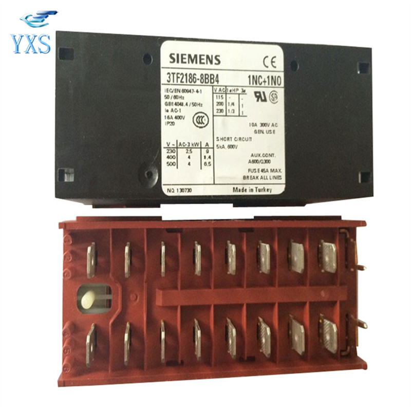 3TF2186-8BB4 SIEM ENS Contactor 3TF21868BB4