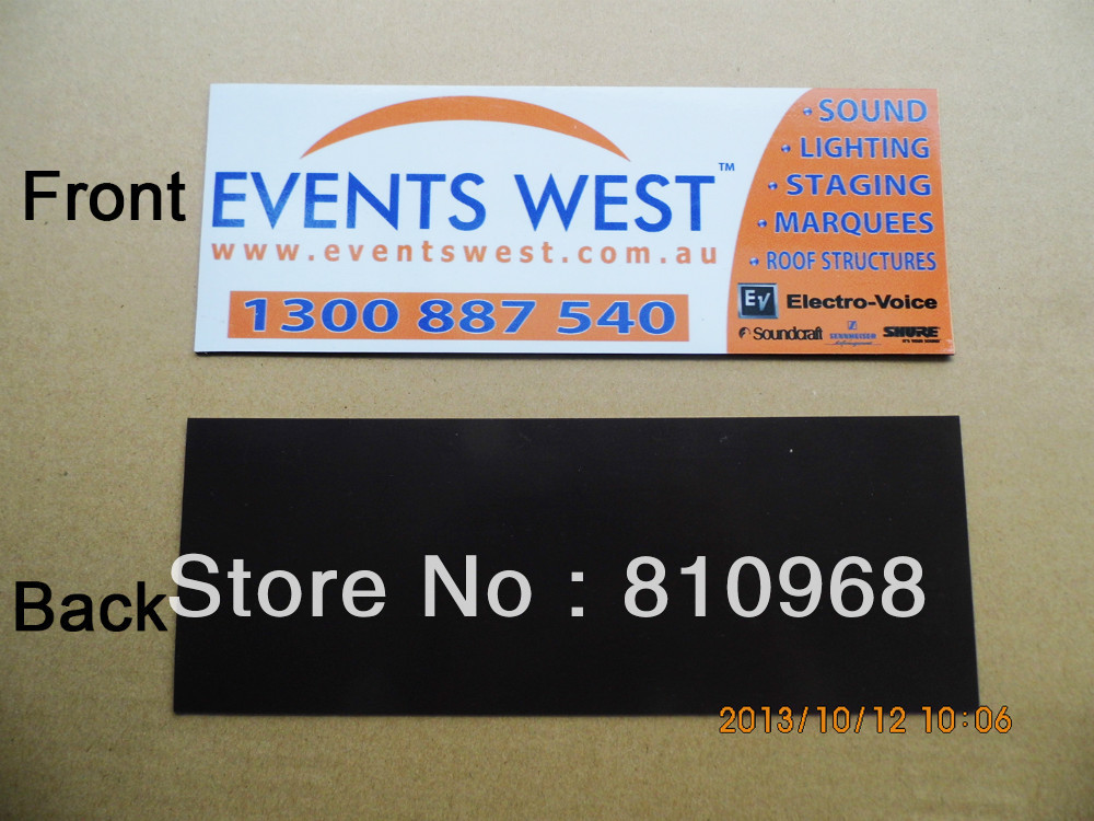custom magnetic car sign, magnetic sticker signs printing-in Wall - print for sale sign for car