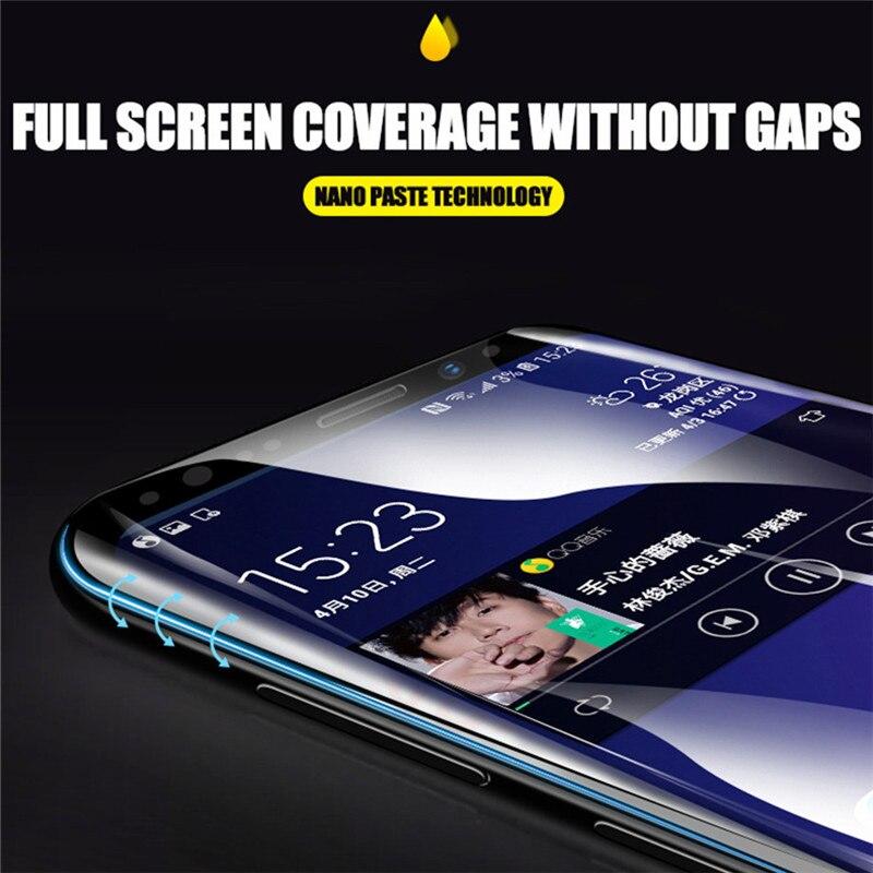 3D pełna pokrywa miękkie hydrożelowe Film do Samsung Galaxy S10 S8 S9 A8 Plus S7 krawędzi uwaga 9 8 A9 s10 Plus Lite 5G folia ochronna na ekran 25