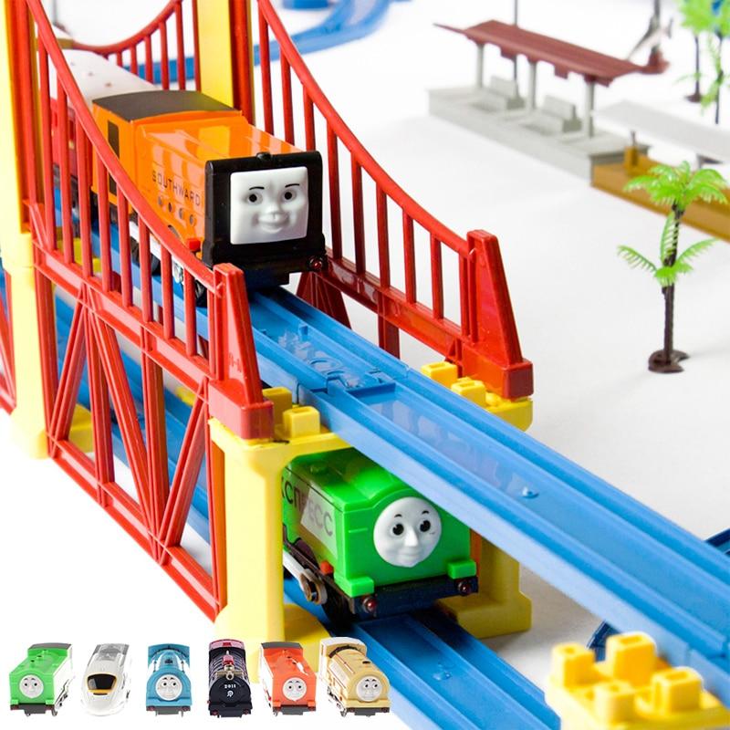 119 pcs thomas electric train set toy trains
