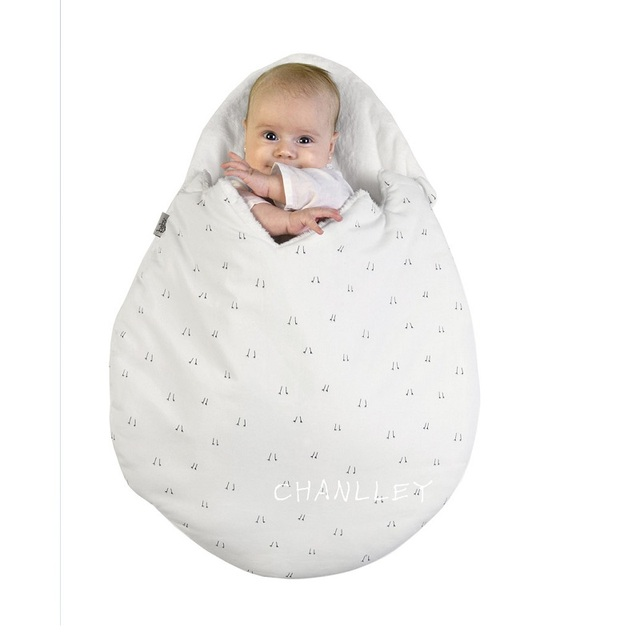 Egg baby sleeping bag infant warm child protector wrap toddler sleepsacks cotton newborn blanket swaddle new design clothing