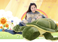 largest size 140cm green turtle plush toy ,stuffed toy, hug pillow ,surprised birthday gift h3000