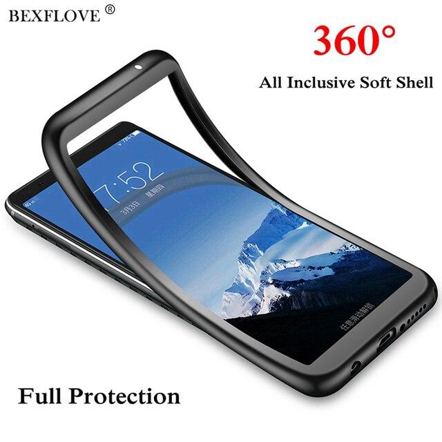 De Lujo 360 caso suave para Huawei P Smart 2019 amigo 20 P20 Pro Lite P8 P9 Lite 2017 P10 nova 3 3i Honor 10 9 Lite 7A 7C Y5 Y9