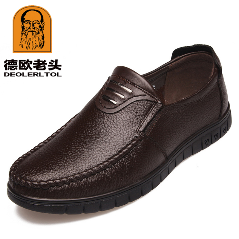 a696f0f0 2019 nuevos mocasines de cuero genuino para Hombre Zapatos suaves Extra Hombre  Zapatos de conducción informales deslizantes hombre mocasines hombres  zapatos ...