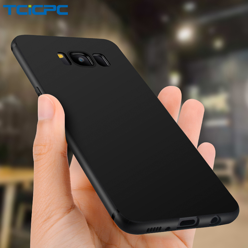 For Samsung Galaxy S8 S8 Plus Case Original TCICPC Brand Luxury Ultra Thin Silicone TPU Cover Case Shield For Galaxy S 8 Plus samsung