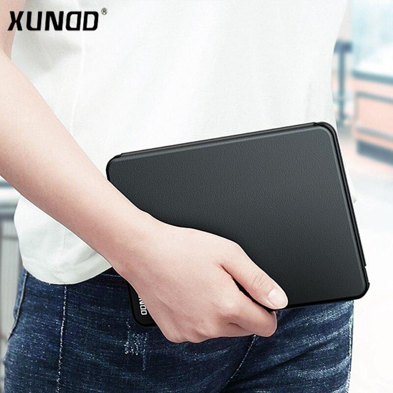 Xundd flip cas Pour Apple iPad Mini 4 PU En Cuir de couverture de cas Antichoc pour iPad Mini4 A1538/A1550 cas avec fonction de veille intelligente