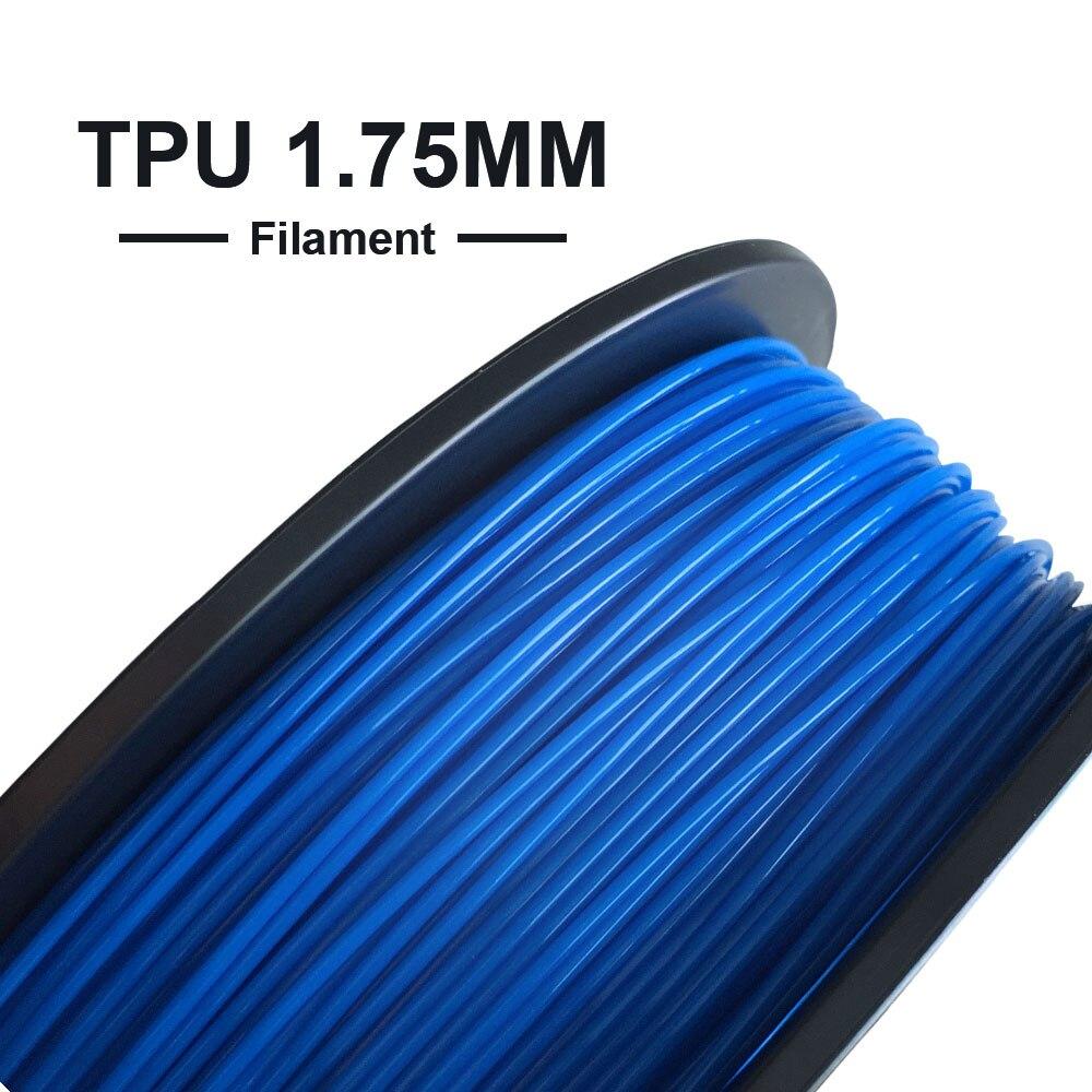 Tronxy 3D Printing Materials PLA/WOOD Filament 1.75mm Soft TPU Use for 3d Printer