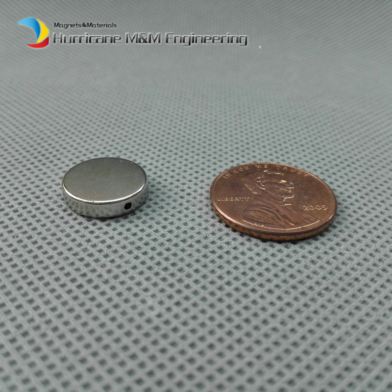 1 pack Bead Magnet Disc Dia. 13x3 mm Dia.1 mm Hole NdFeB Beading Magnet Strong Neodymium Magnets Rare Earth Magnets Permanent free shipping neodymium disc magnet 10pcs 25x3mm with hole 13mm n50 rare earth permanent strong ndfeb magnets