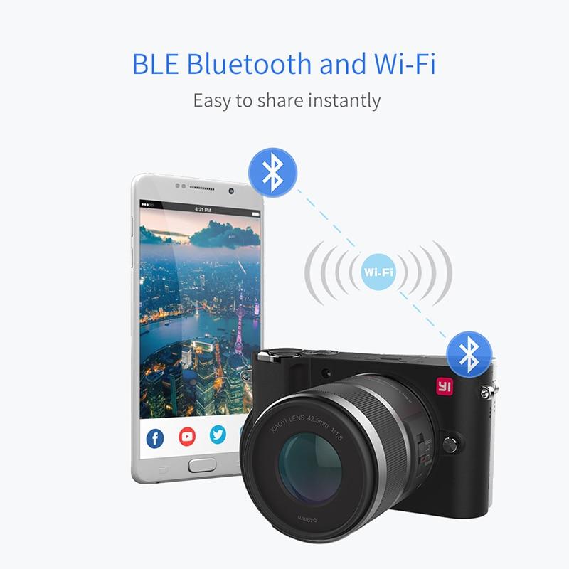 YI M1 Айнадай сандық фотокамерасы Prime Zoom - Камера және фотосурет - фото 5