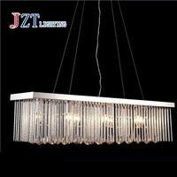 L100xW22xH100cm E14 Restaurant lamps creative minimalist rectangular crystal chandelier dining room chandelier lighting bar|chandelier dining|restaurant lampscrystal chandelier dining room -
