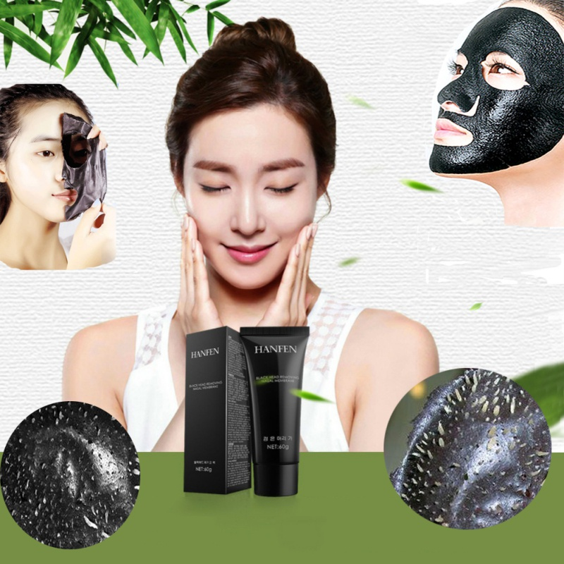 New Black Head Removing Nasal Membrane to Black Nose Film Deep Cleansing Purifying Peel Off Black Shrink Pores black Mask