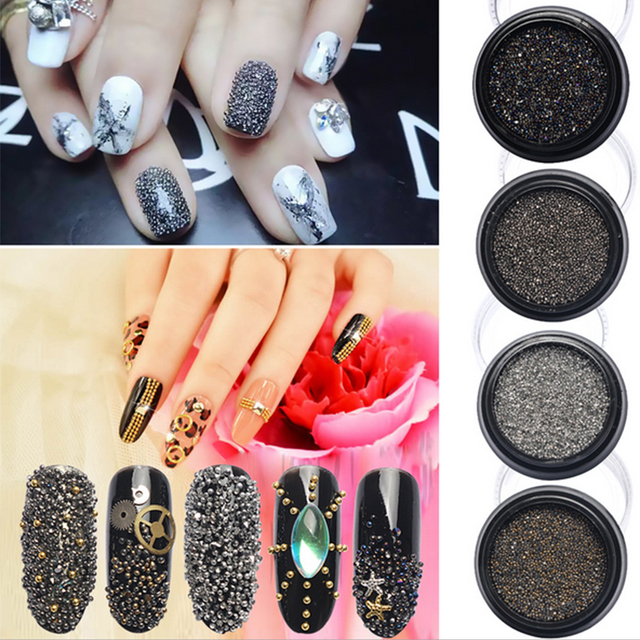 Korea 2017 new nail art rhinestones wizard beads crystal sand mini korea 2017 new nail art rhinestones wizard beads crystal sand mini bead tiny diamond decorative stones prinsesfo Images