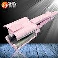 Professional curling iron Pear flower head shape hair stick Ceramic curling rod tool Digital LCD display curling hair