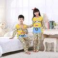 Niños Pijamas set de Manga larga ropa de La Muchacha de la Historieta ropa de noche Traje Encantador Ropa Del Niño boy Homewear niños pijama