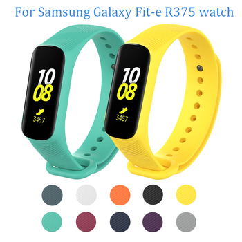 Replacement Silicone watch strap For Samsung Galaxy Fit-e R375 watches band For Samsung Galaxy Fit-e R375 wristband bracelet laforuta silicone band for galaxy fit e strap rubber sport wrist band for samsung r375 loop women men fitness bracelet 2019