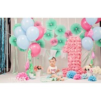 Seamless Vinyl Photography Backdrops Children Birthday Party Photography Backdrops For Photo Studio F 2751