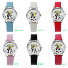 ot03 Child watch with cotton baby happy gesture girl boy waterproof quartz watch cute cartoon pupil watch