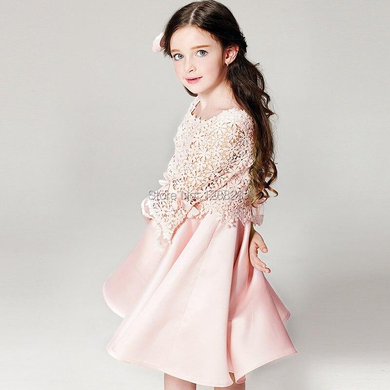 10615af7e6a ... High Quality Children Dress Long Sleeve Kids Clothes Summer Dress  Flower Girls Dresses. sku  32600989420