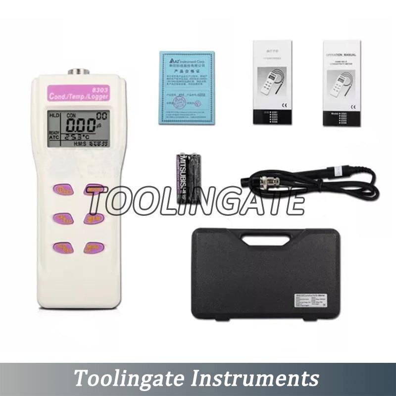 AZ8306 Digital portable PH Meter Conductivity Water Tester pen COND TDS Detector Liquid Salinity Meter in PH Meters from Tools