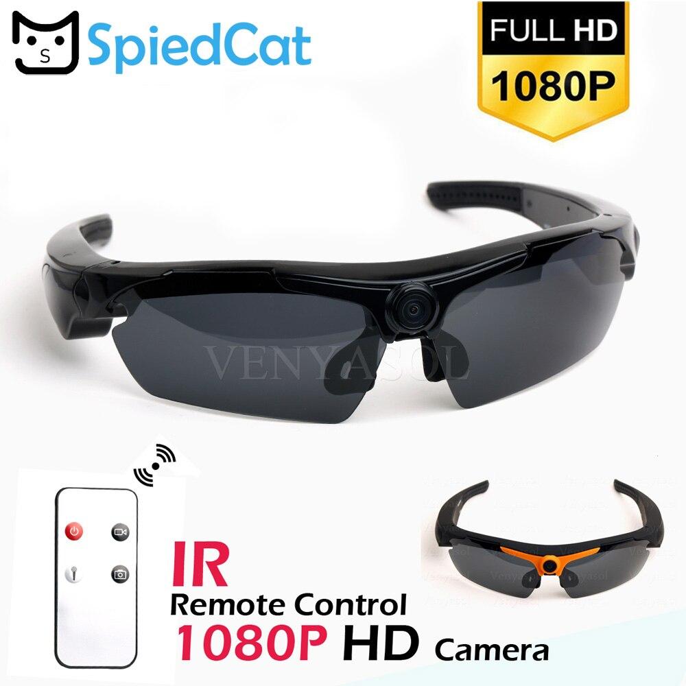 1540aafcffe6 1080P HD Eye Wear 170 Wide Angle Sunglasses Mini Video Recorder Camera Mini  DV DVR Polarized